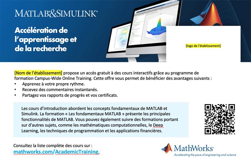 Modèle de carte postale Campus-Wide License Online Training 4x6