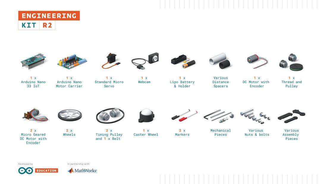 Arduino Engineering Kit Contents