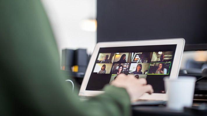 Networking lors d'un événement en ligne