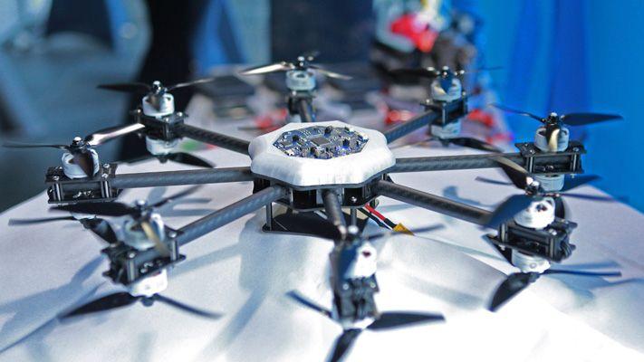 Démo de drone