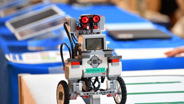 Démo de robotique