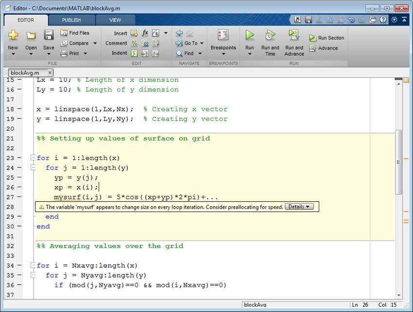 Accelerating MATLAB Algorithms and Applications