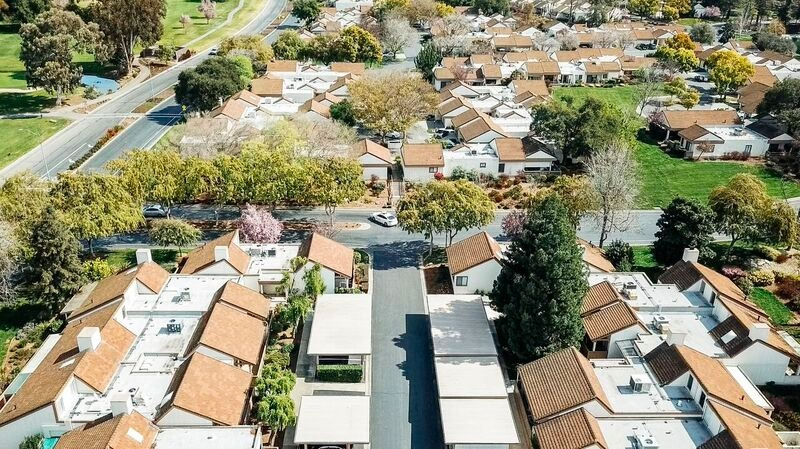 Figure 3. Aerial view of The Villages retirement community.