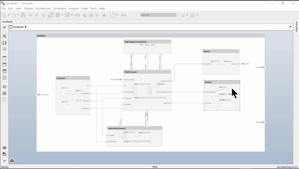 This video shows how to automatically create a diagram that focuses on a single component and its connectivity.