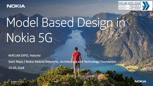 Le Model-Based Design dans la 5G chez Nokia