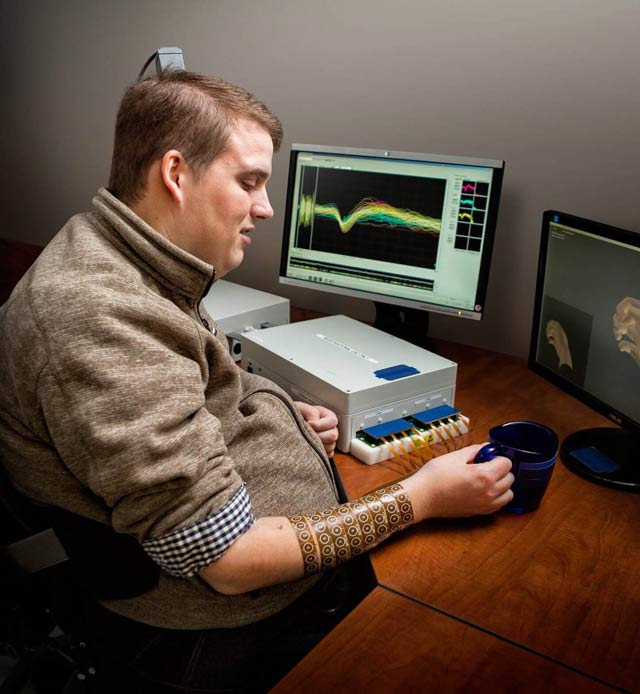 Battelle Neural Bypass Technology Restores Movement to a Paralyzed Man's Arm and Hand