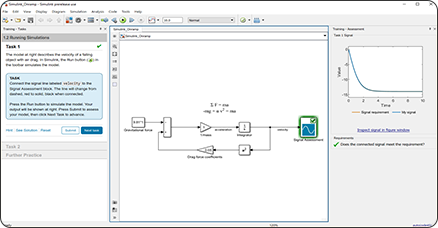 Introduction à Simulink (Simulink Onramp)