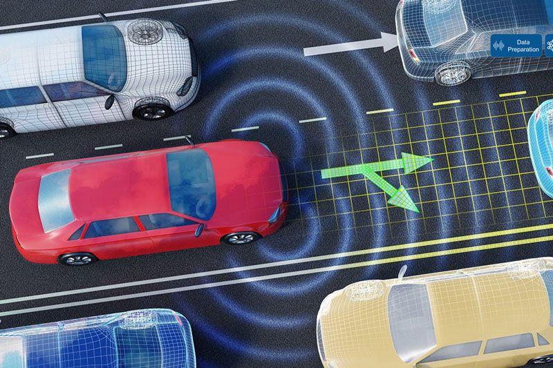 L'IA utilisée dans un scénario de conduite autonome.