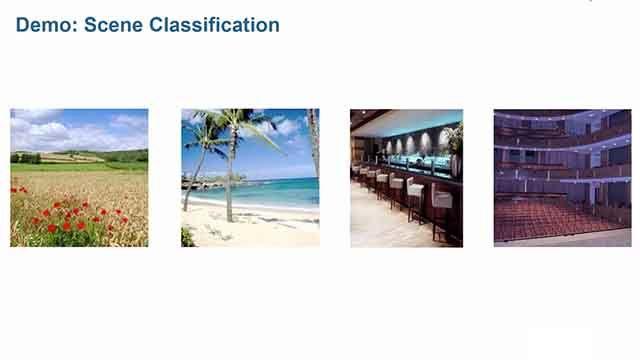 Utilisez les techniques de Machine Learning de MATLAB pour reconnaître des scènes en fonction de caractéristiques uniques dans des images.