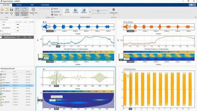 Découvrez comment effectuer des tâches d'analyse de signaux telles que le prétraitement, le filtrage et l'extraction de caractéristiques dans MATLAB avec l'application Signal Analyzer.