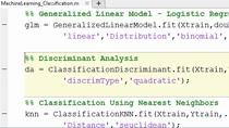 Découvrez comment utiliser les outils de machine learning MATLAB® pour résoudre les problèmes de régression, de clustering et de classification.