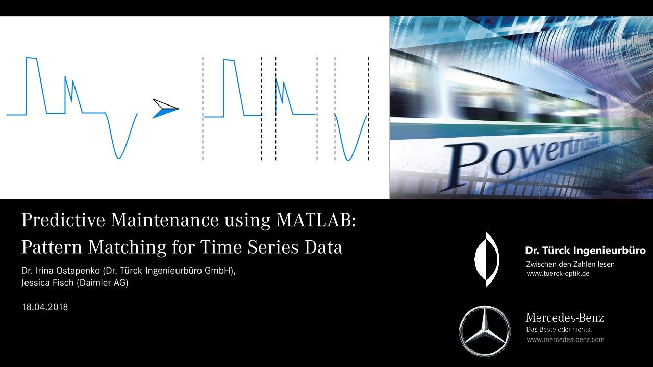 Predictive Maintenance at Daimler: Pattern Matching for Time-Series Data (Slides)