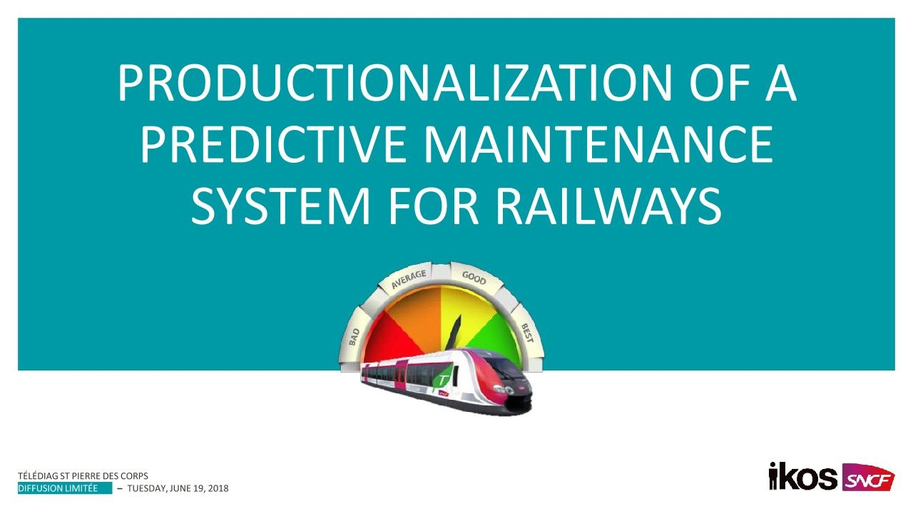 SNFC Produces a Predictive Maintenance System for Railways