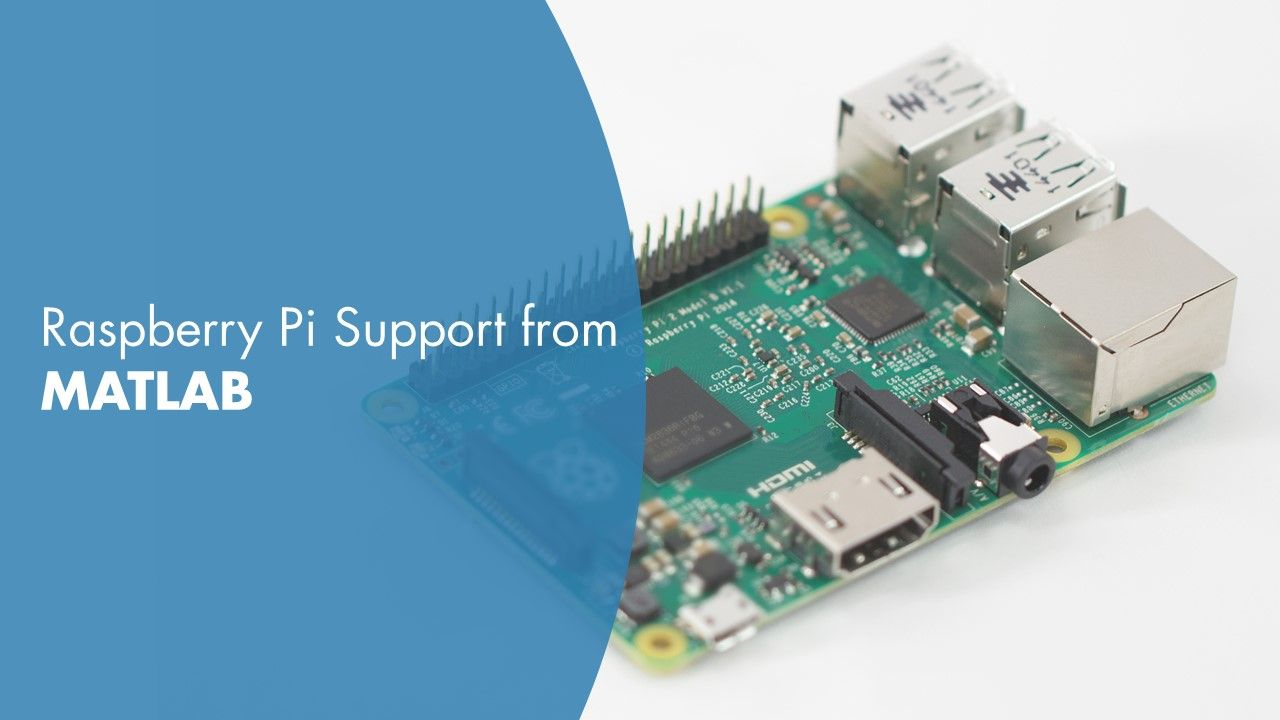 Raspberry Pi Support from MATLAB