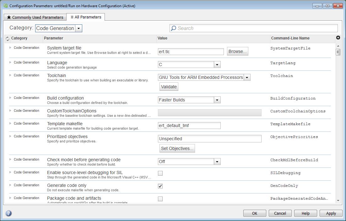 Configure a Model for ARM Cortex-M3 QEMU Emulator - MATLAB