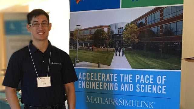 Nick, Application Support Engineer, EDG, Natick, Graduate of Rensselaer Polytechnic Institute (RPI)