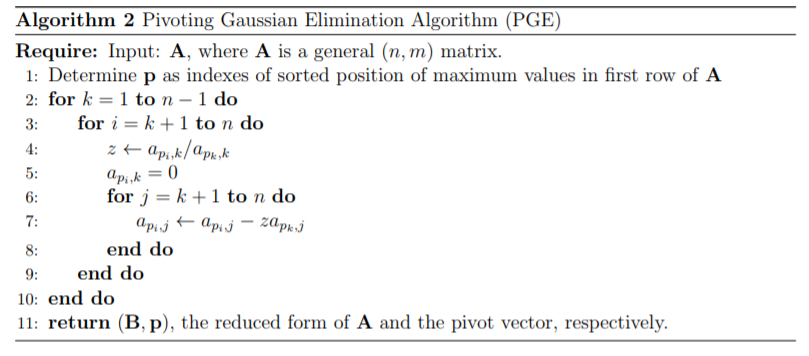 Pivoting Gaussian Elimination Coding - MATLAB Answers