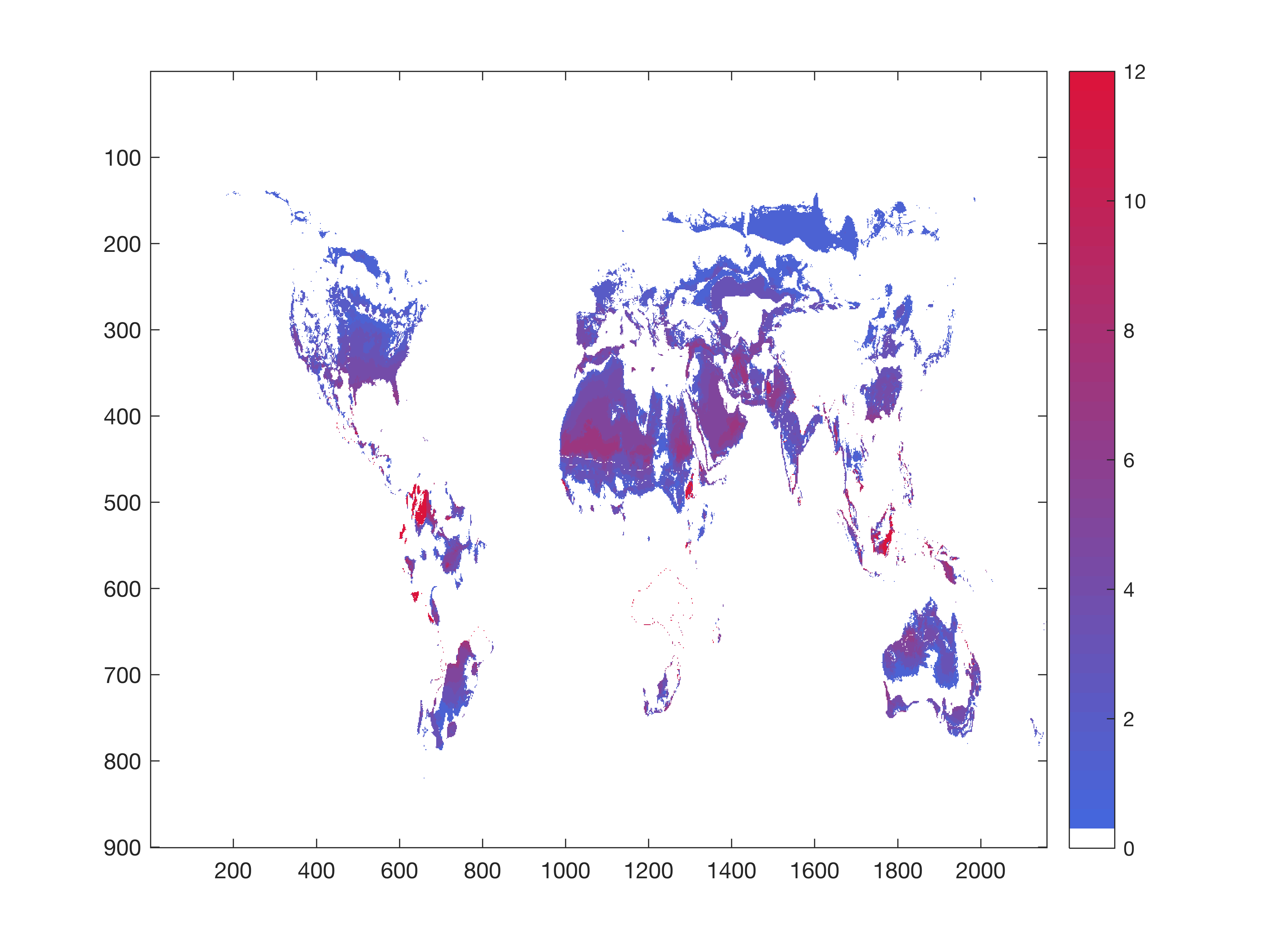 import matrix into mapping toolbox? or just draw coastlines in fig