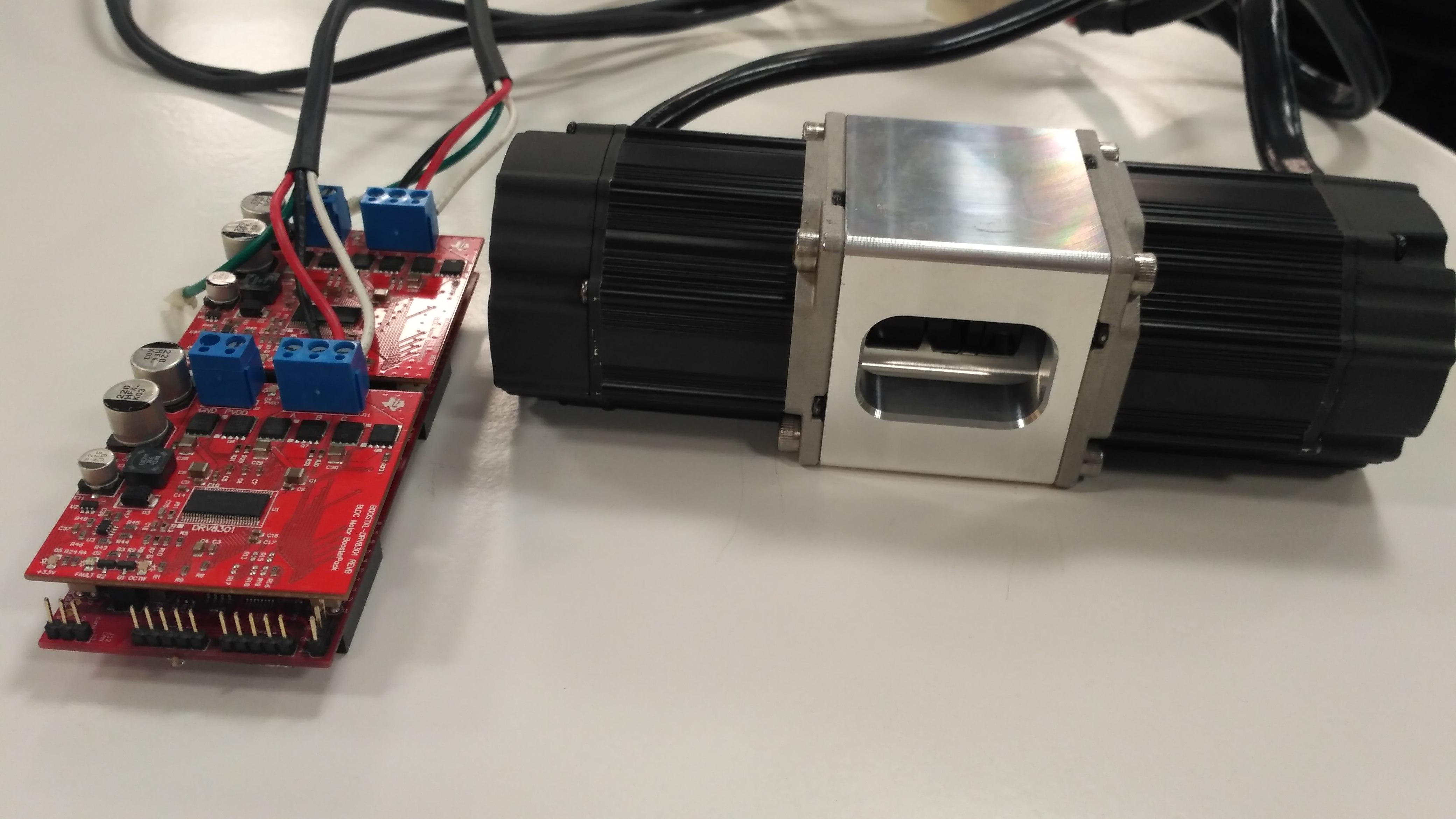 Dual Motor Control With Ti Launchxl F28069m Launchpad