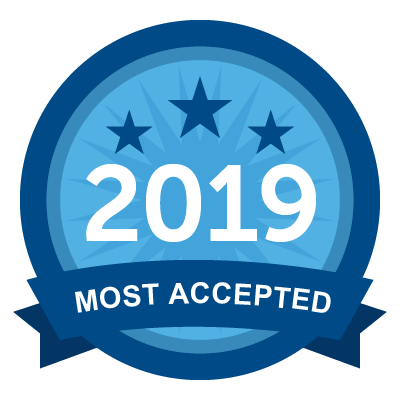 Most Accepted 2019