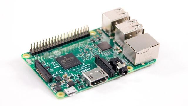 Carte Raspberry Pi 3.