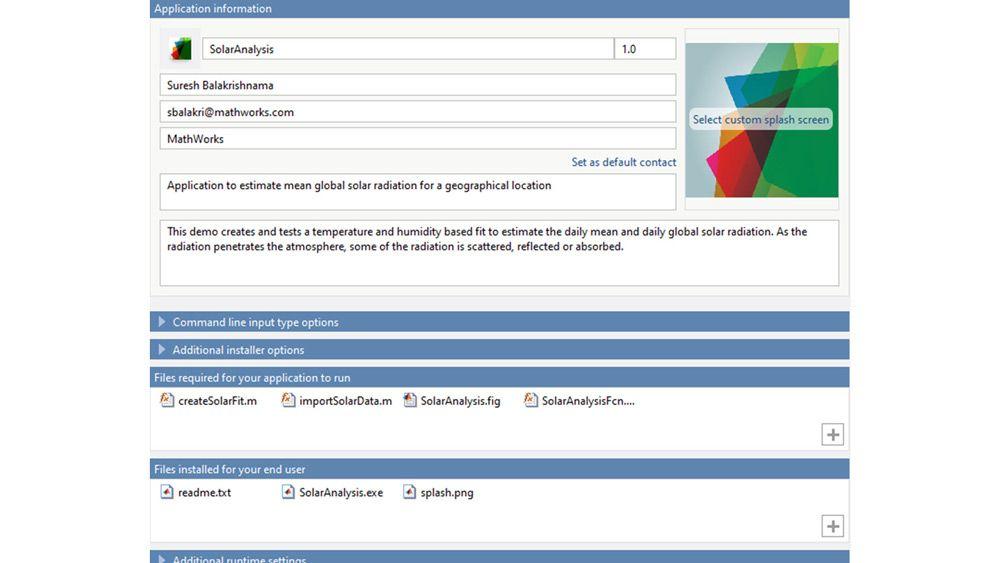 Personnaliser le programme d'installation de votre application pour répondre à vos besoins.