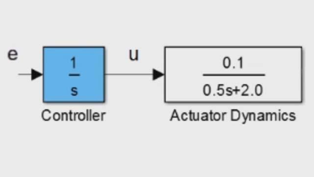 Travaillez avec des fonctions de transfert à l'aide de MATLAB et Control System Toolbox.
