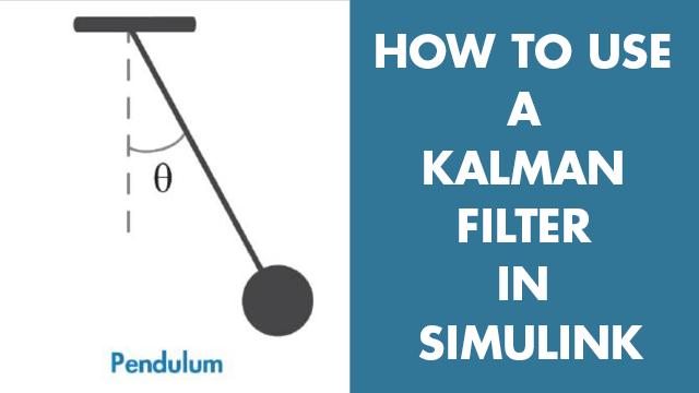 Estimez la position angulaire d'un système de pendule simple à l'aide d'un filtre de Kalman dans Simulink. Vous apprendrez à configurer des paramètres de bloc d'un filtre de Kalman tels que le modèle de système, les estimations de l'état initial et les caractéristiques de bruit.