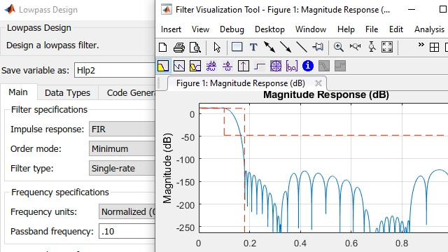 Conception et analyse de filtres avancée