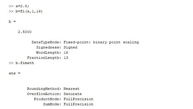 Un type de données en virgule fixe et ses propriétés.