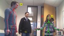 Acquisition d'images et de données de squelette à partir de Microsoft Kinect For Windows dans MATLAB. Kinect est un dispositif d'interaction naturelle avec une caméra RGB, un capteur de profondeur 3-D et un microphone 4 canaux.