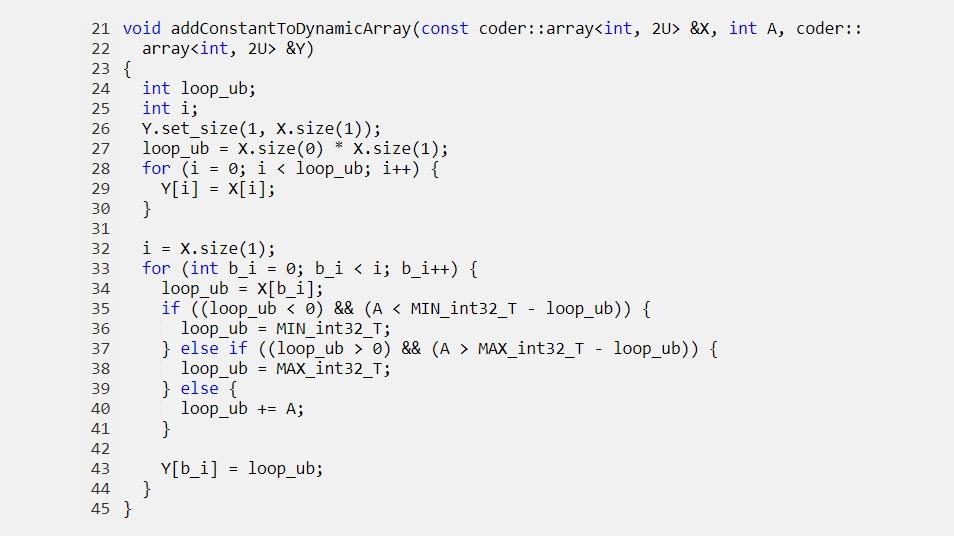 Passez des structures allouées dynamiquement aux fonctions générées.