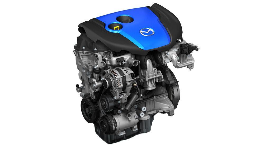 Moteur SKYACTIVE-D de Mazda.