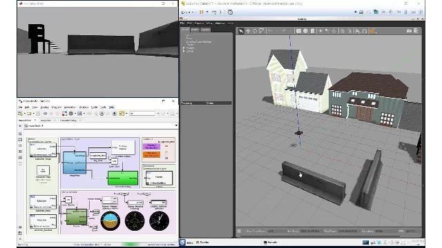 Simuler et vérifier des algorithmes autonomes avec Robotics System Toolbox, ROS Toolbox et Gazebo