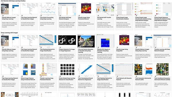 Exemples de Deep Learning
