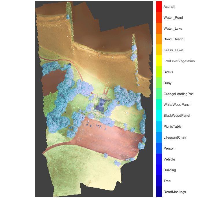 Segmentation sémantique - Image satellite multispectrale