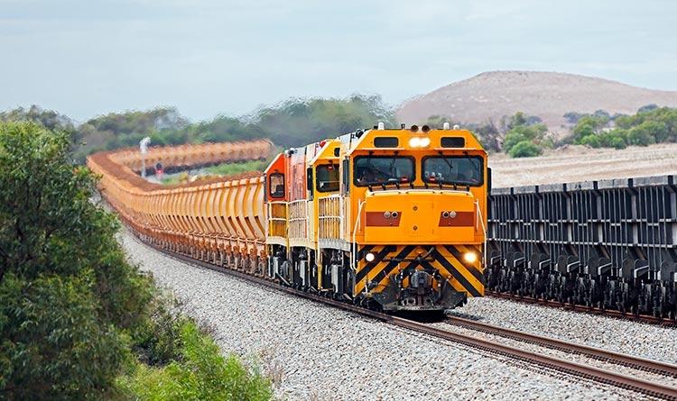 Train de minerai de fer