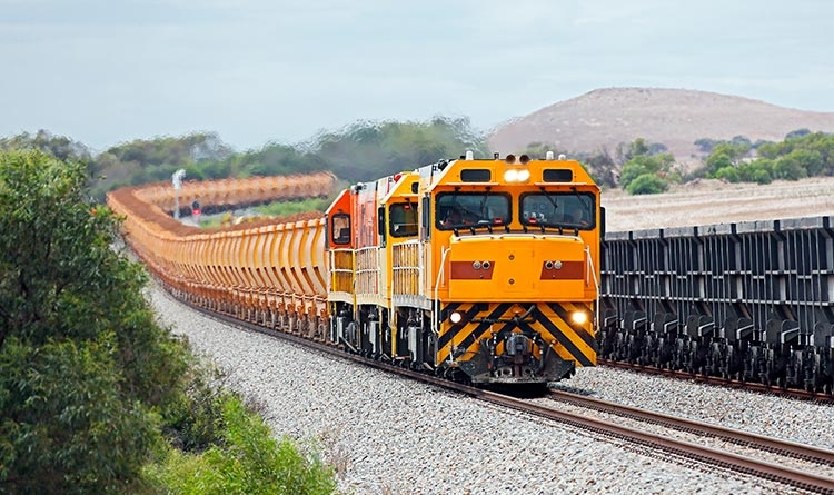 Train de minerai de fer
