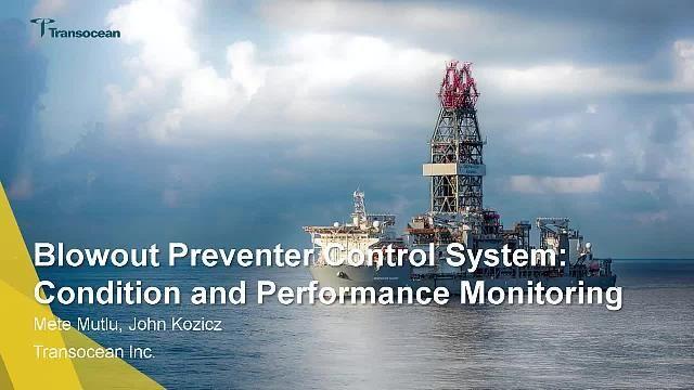 Transocean surveille la performance d'un obturateur anti-éruption sous-marin (BOP) dans Simscape en recourant à des modèles adaptatifs basés sur la physique, au traitement du signal ainsi qu'à des analyses de bord.