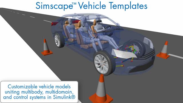 Découvrez comment les modèles de véhicules Simscape offrent un modèle de véhicule personnalisable que vous pouvez utiliser pour un grand nombre de tâches de design de véhicules.