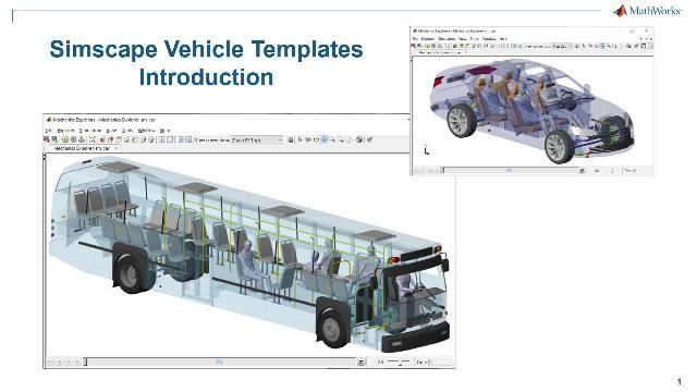 Découvrez une introduction aux modèles de véhicules Simscape. Les modèles proposent un modèle configurable du véhicule, une bibliothèque de composants personnalisables ainsi qu'une interface utilisateur qui vous permet de personnaliser le véhicule et l'événement que vous souhaitez exécuter.