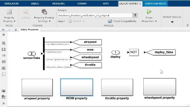 Découvrez comment effectuer des preuves de propriété avec Simulink Design Verifier et comment débugger un contre-exemple généré automatiquement grâce à l'outil Model Slicer de Simulink Check.