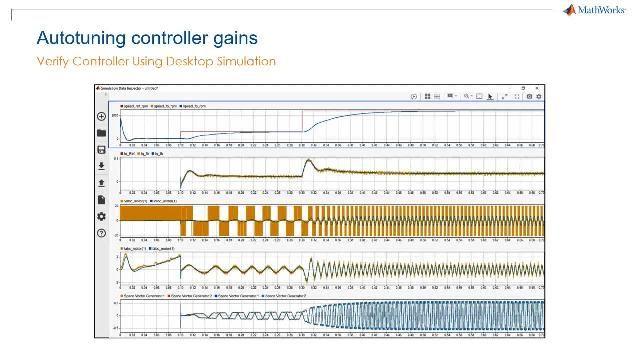 Accélérez le développement de vos contrôleurs de moteurs électriques grâce à Motor Control Blockset.