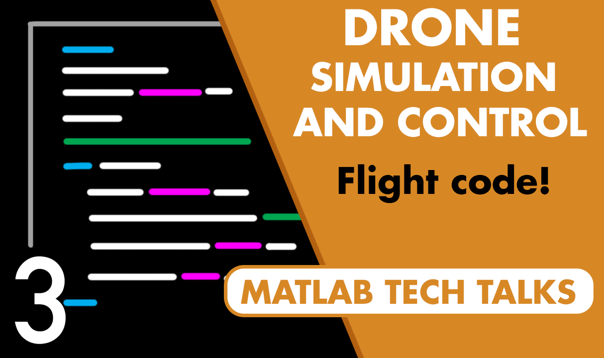 Discover how to create flight software from the control architecture developed in the last video. Embed this code on the Parrot Minidrone and get the actual hardware to hover.