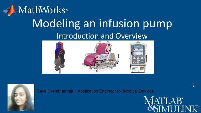 Learn how you can model an infusion pump using Model-Based Design. Discover the basic building blocks within Simulink that you can use for simulating the infusion pump, and investigate what-if scenarios such as occlusion detection.