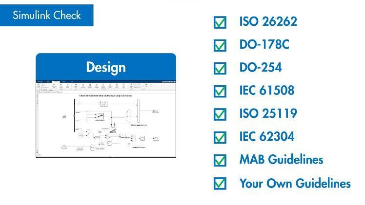 Verify compliance with modeling standards using Model Advisor.