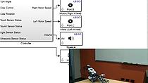 Découvrez comment installer le Simulink Support Package pour LEGO Mindstorms NXT. Implémentez et testez un algorithme de détection d'obstacles sur le LEGO Mindstorms NXT.