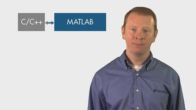 Use MATLAB together with C/C++ to develop algorithms for audio, communications, image, or signal processing applications. You can call MATLAB from C, generate C code from MATLAB, and reuse your C/C++ IP natively in MATLAB.