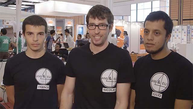Découvrez pourquoi l'équipe AM&UROPE4MARS s'est inscrite à la compétition de programmation robotique « Mission on Mars Robot Challenge 2015 » qui s'est tenue sur le salon Innorobo à Lyon, France.