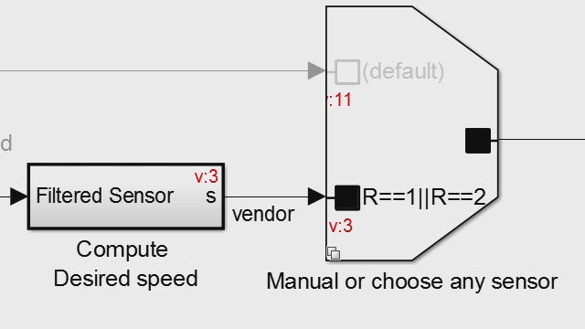 Design variant choices and automatically remove unnecessary functionality based on block connectivity in Simulink .